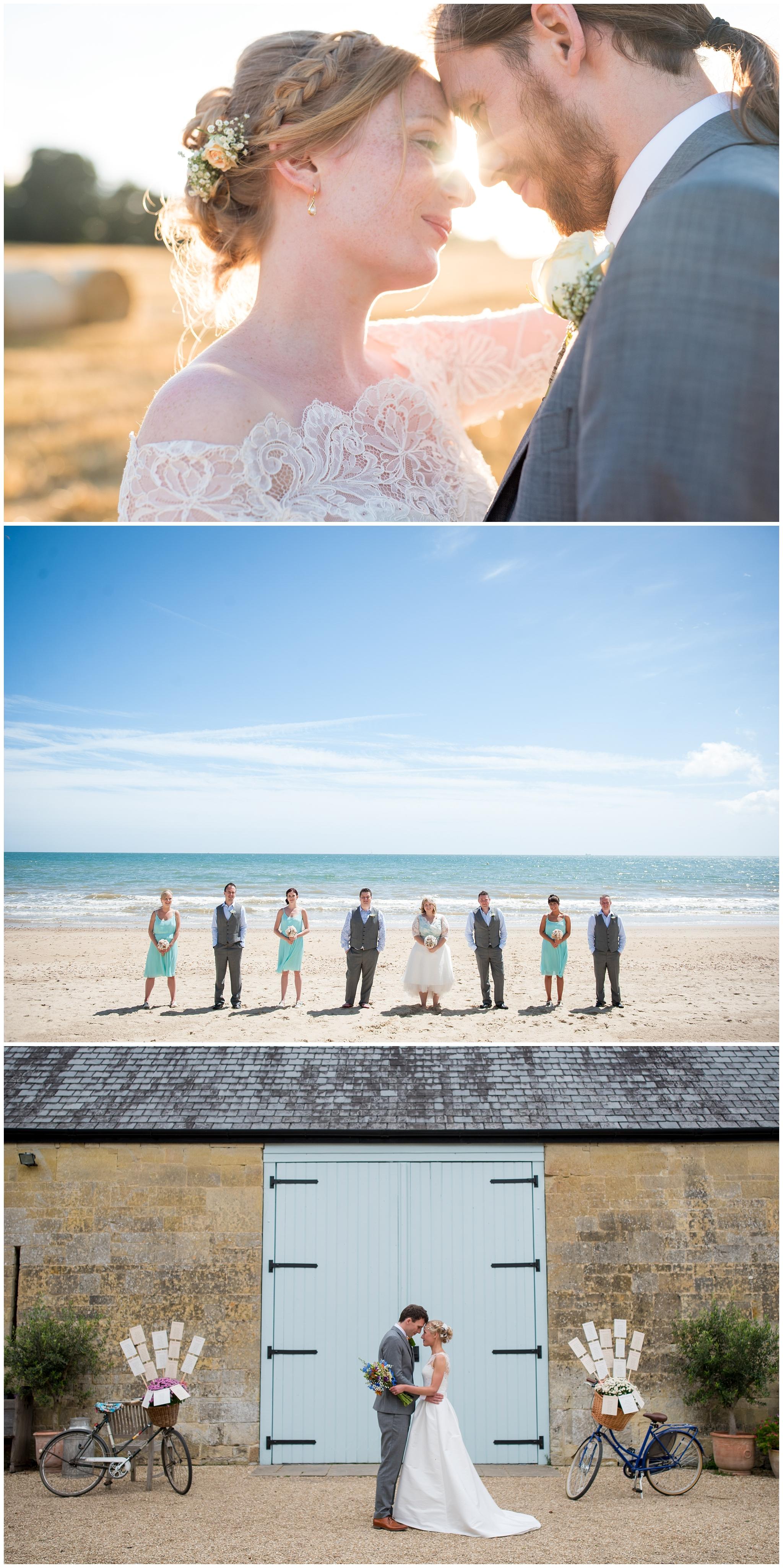 Contemporary wedding photography in Hmapshire