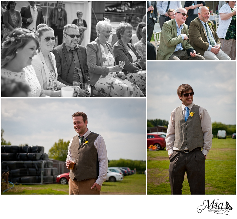 wedding at the farm in the new forest