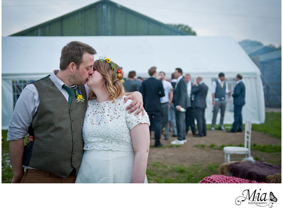 Hampshire Wedding Photographer – James & Sally's Wedding Down on the Farm!