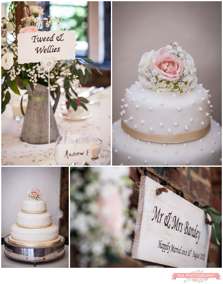 wedding cake photography at lainstone house in winchester hampshire
