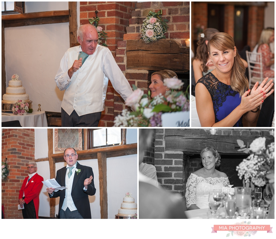 Wedding photographer at lainstone house hotel in winchester hampshire