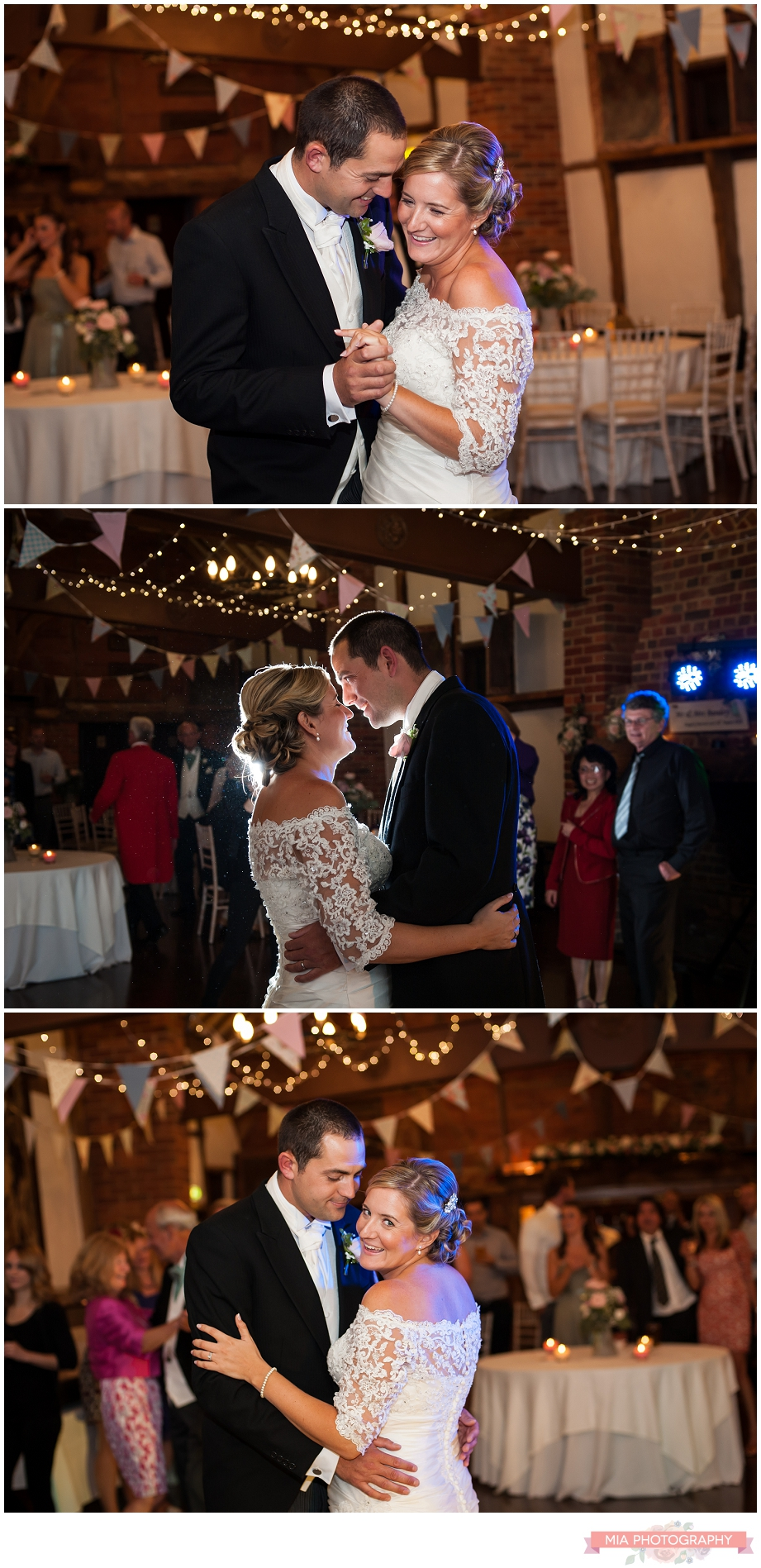 First dance photography at lainstone house hampshire