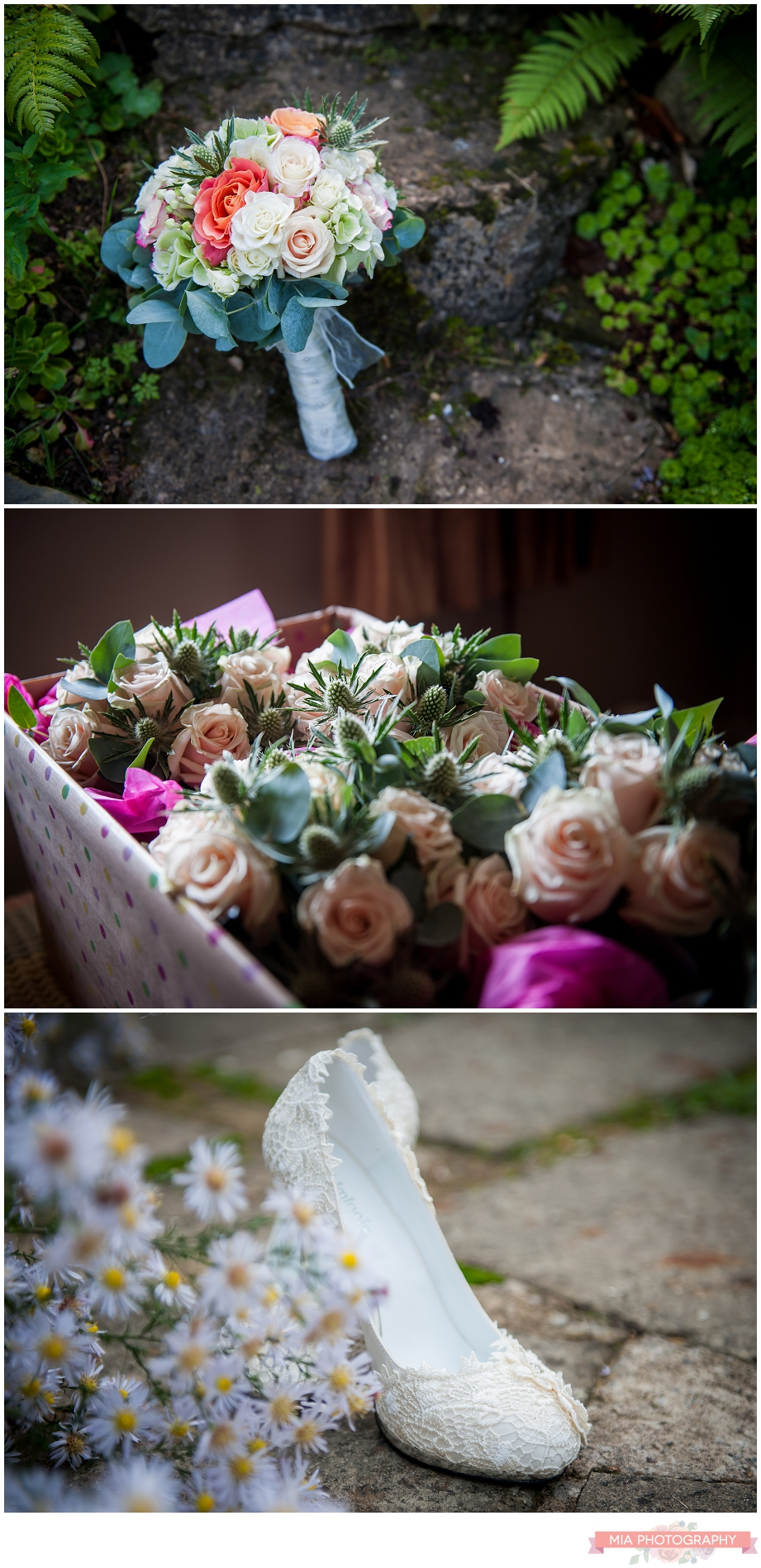 vintage wedding flowers in hampshire