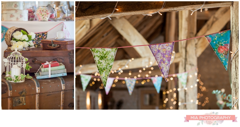 bury court barn ready for wedding in hampshire