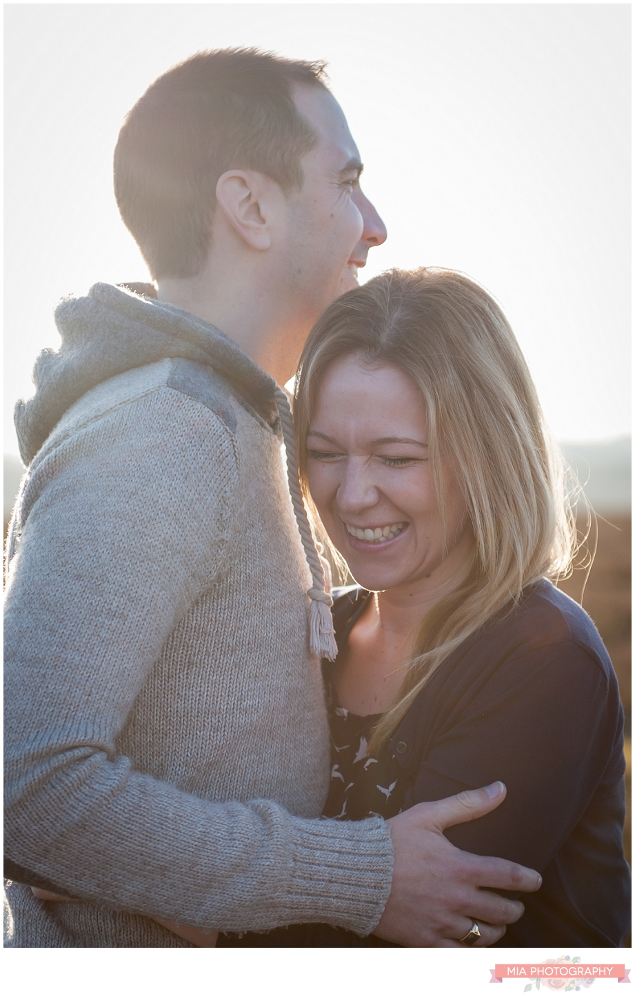 hampshire engagement shoot
