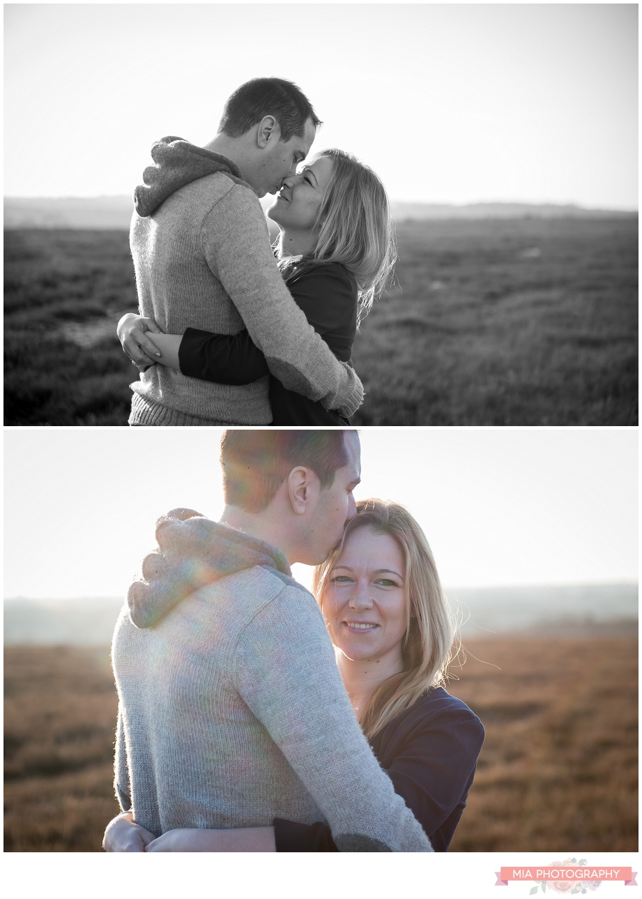 engagement shoot in Hampshire