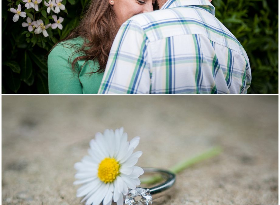 Flower Meadow Wedding Photography – JP & Becky's Engagement Shoot
