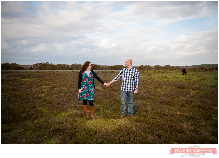 New Forest Wedding Photographer – Andrea & Rich's Engagement shoot