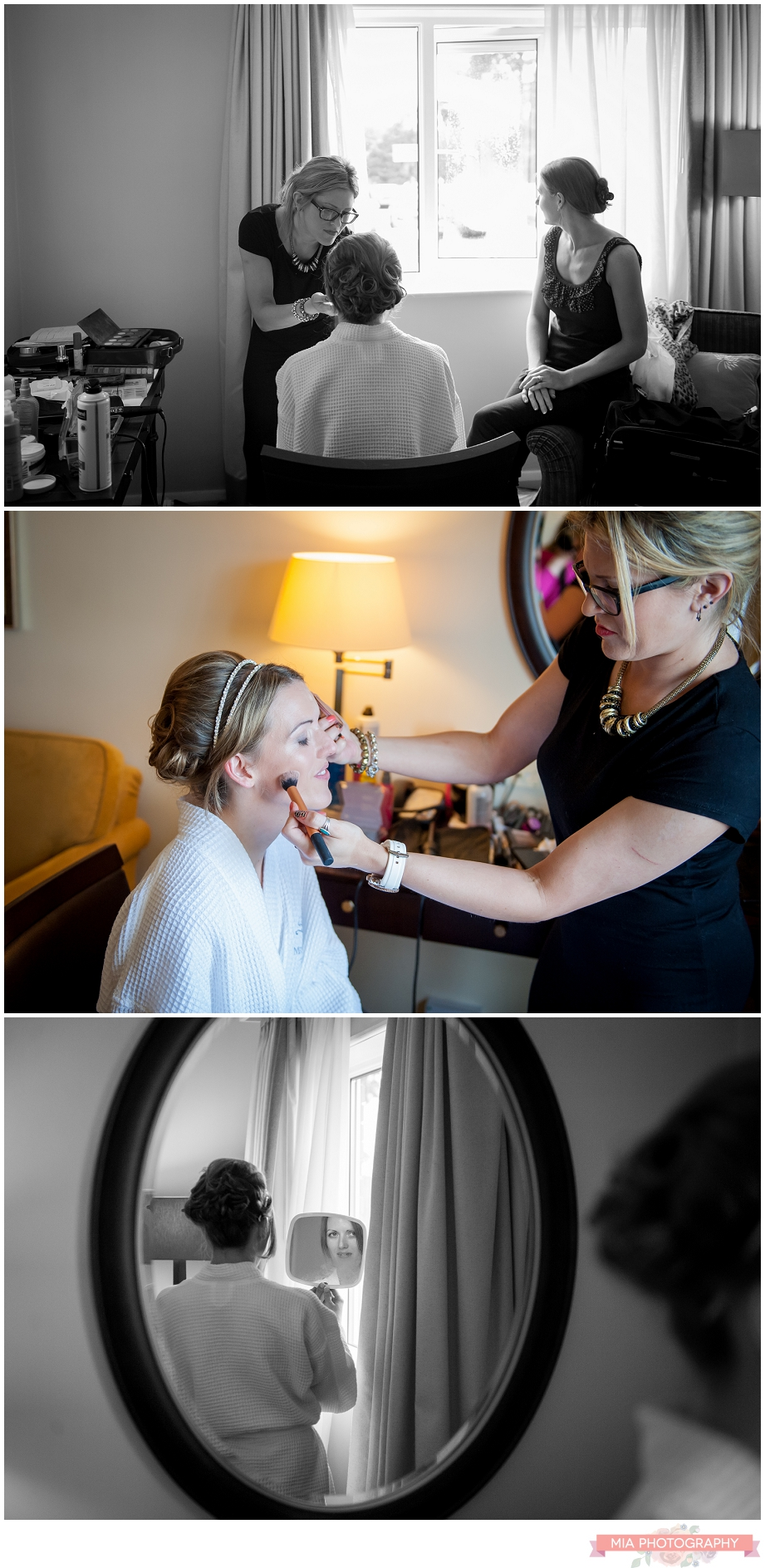 make up at Meon Valley Marriott hotel