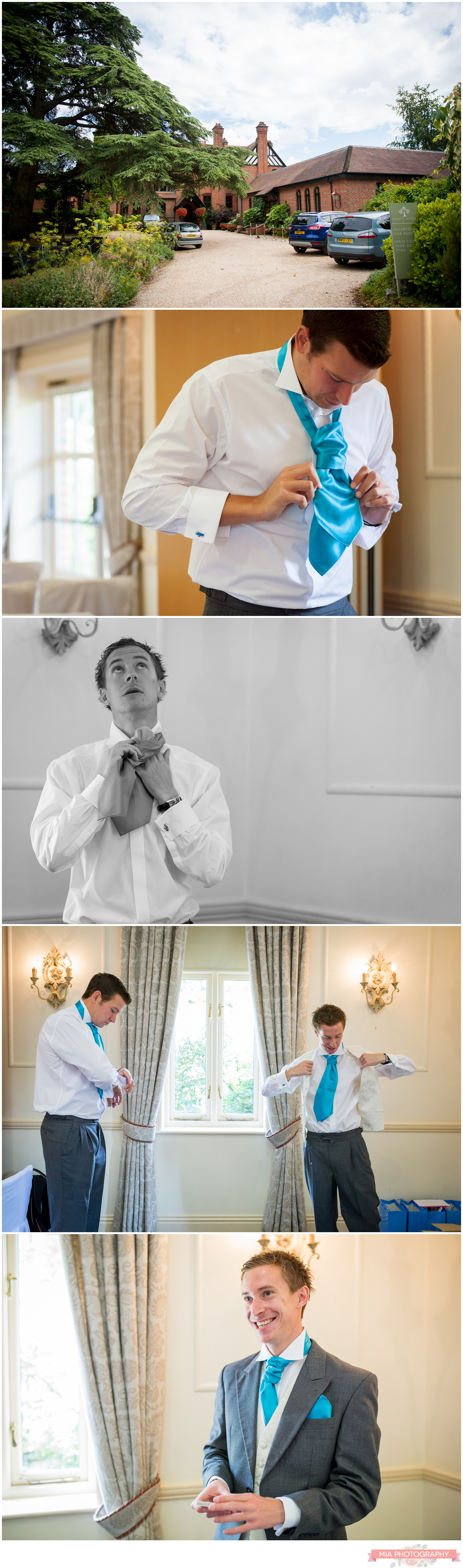 Careys manor wedding in the new forest