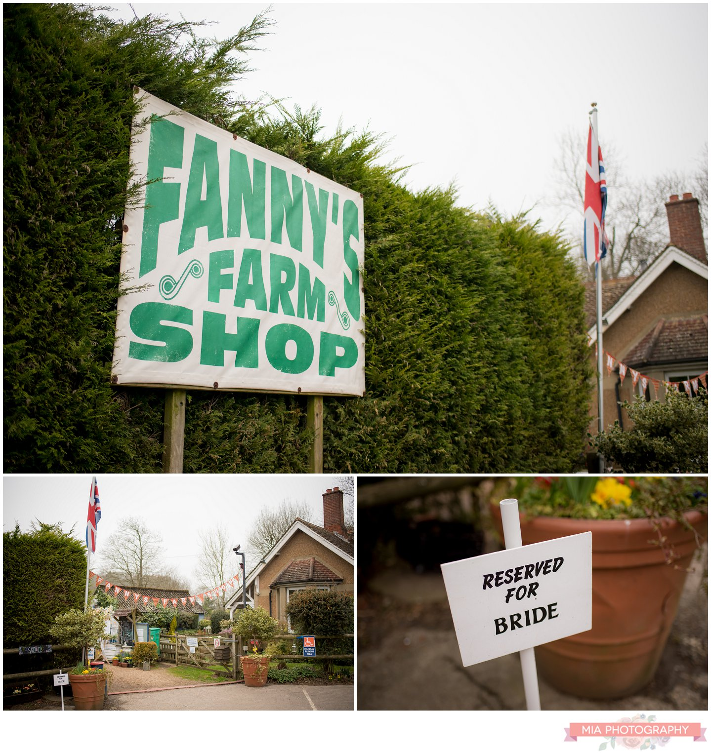 Fanny's Farm shop sign