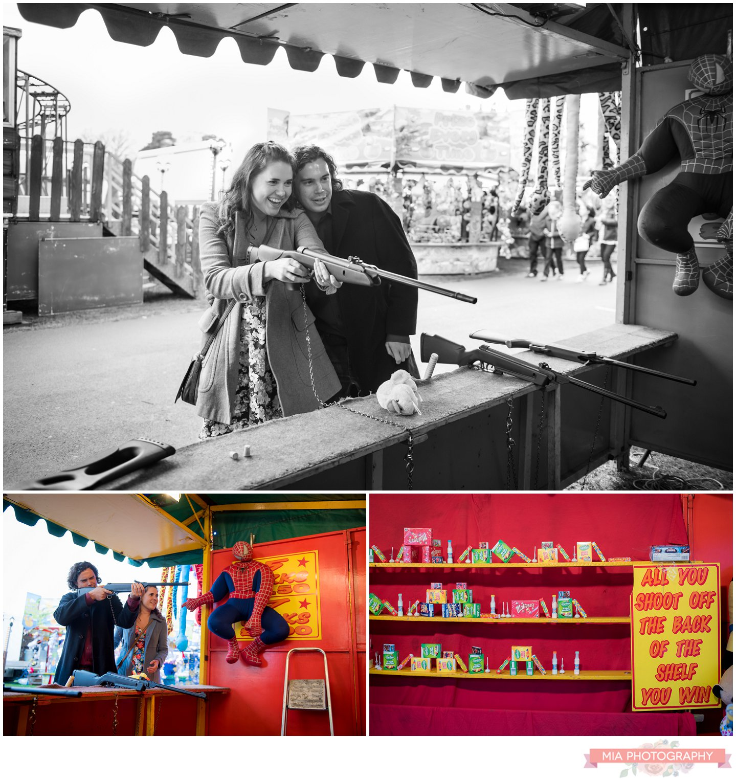 Fairground Engagement photography in southampton