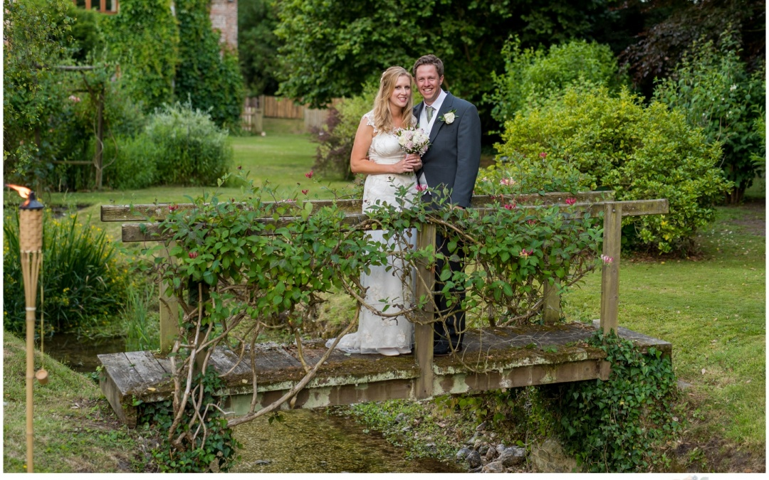 Marquee Garden Wedding in Salisbury – Laura & Mark