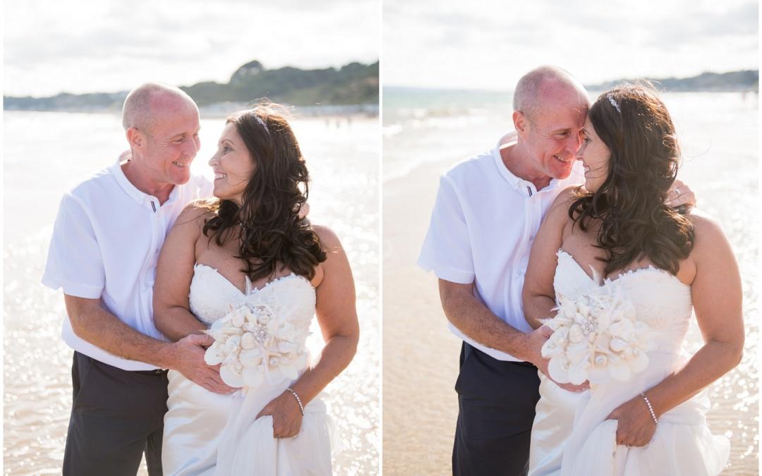 Beach Weddings Bournemouth – Romana & Tony