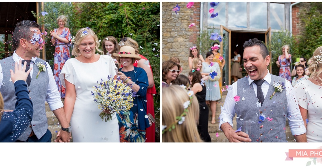 Festival Wedding at Grittenham Barn – Catherine & Nobby