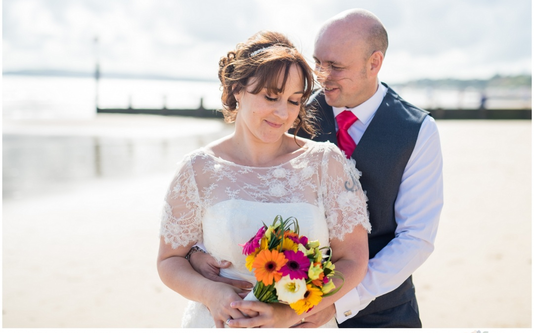Beach Weddings Bournemouth – Vicky & Simon