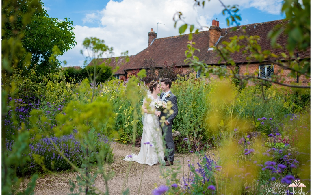 The Walled Garden at Cowdray – Emma & Max