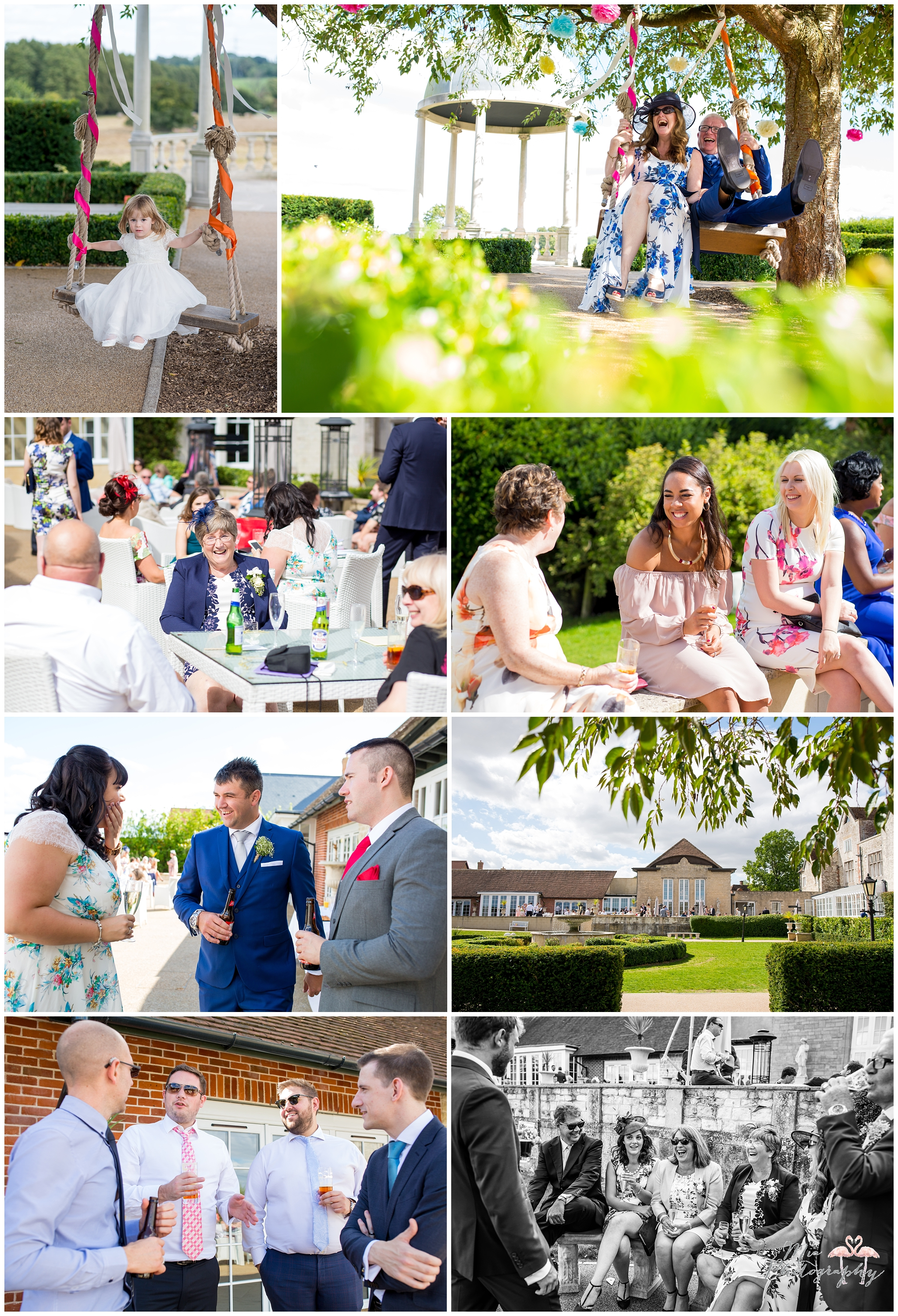 Froyle Park fun wedding
