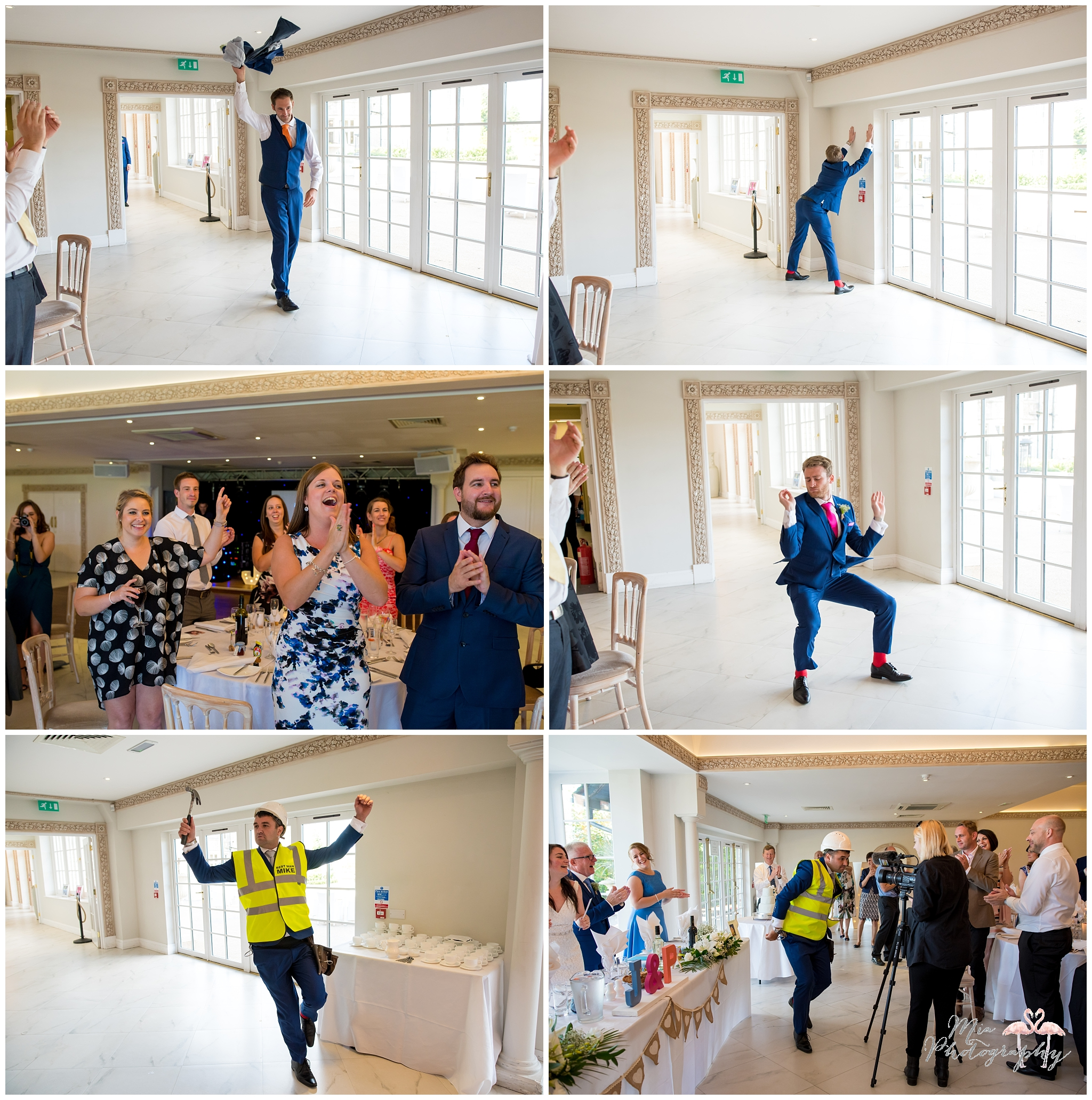 Flash mob wedding