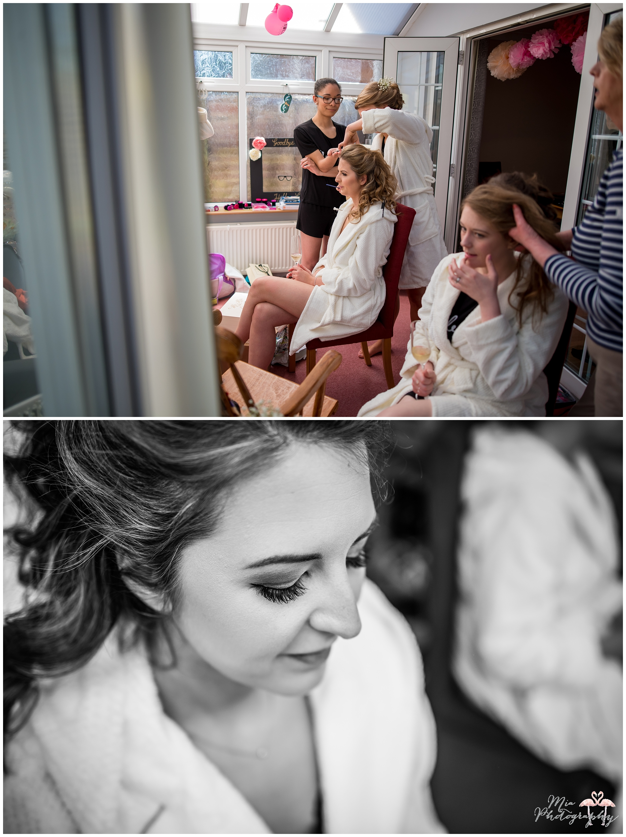 Bridal prep in Hampshire