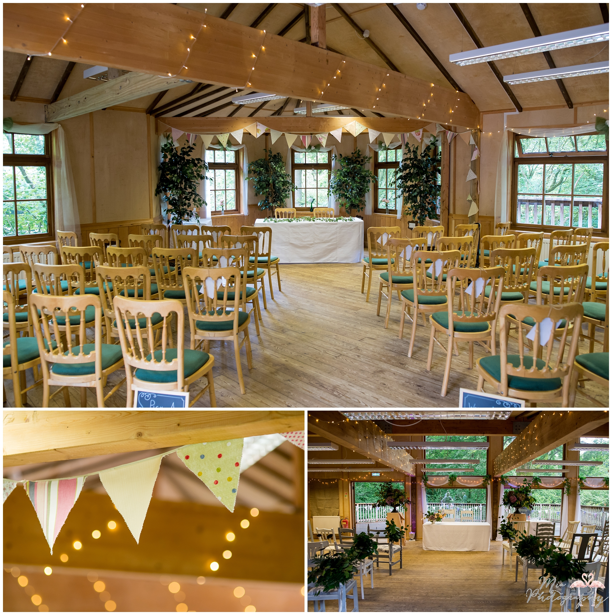 Ceremony room for Beaulieu treehouse