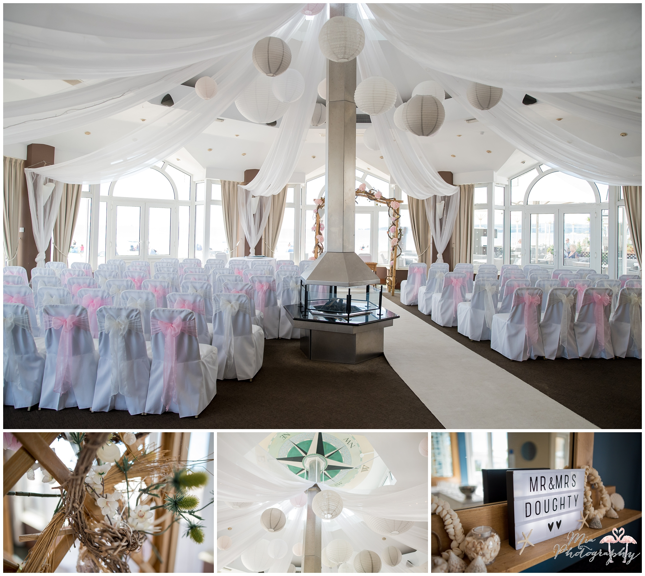 The Sandbanks Hotel wedding photography
