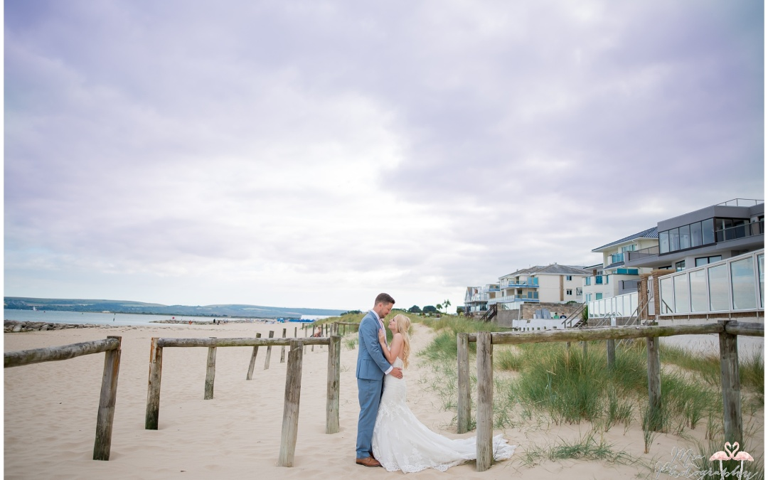 The Sandbanks Hotel Wedding – Amy & Tom