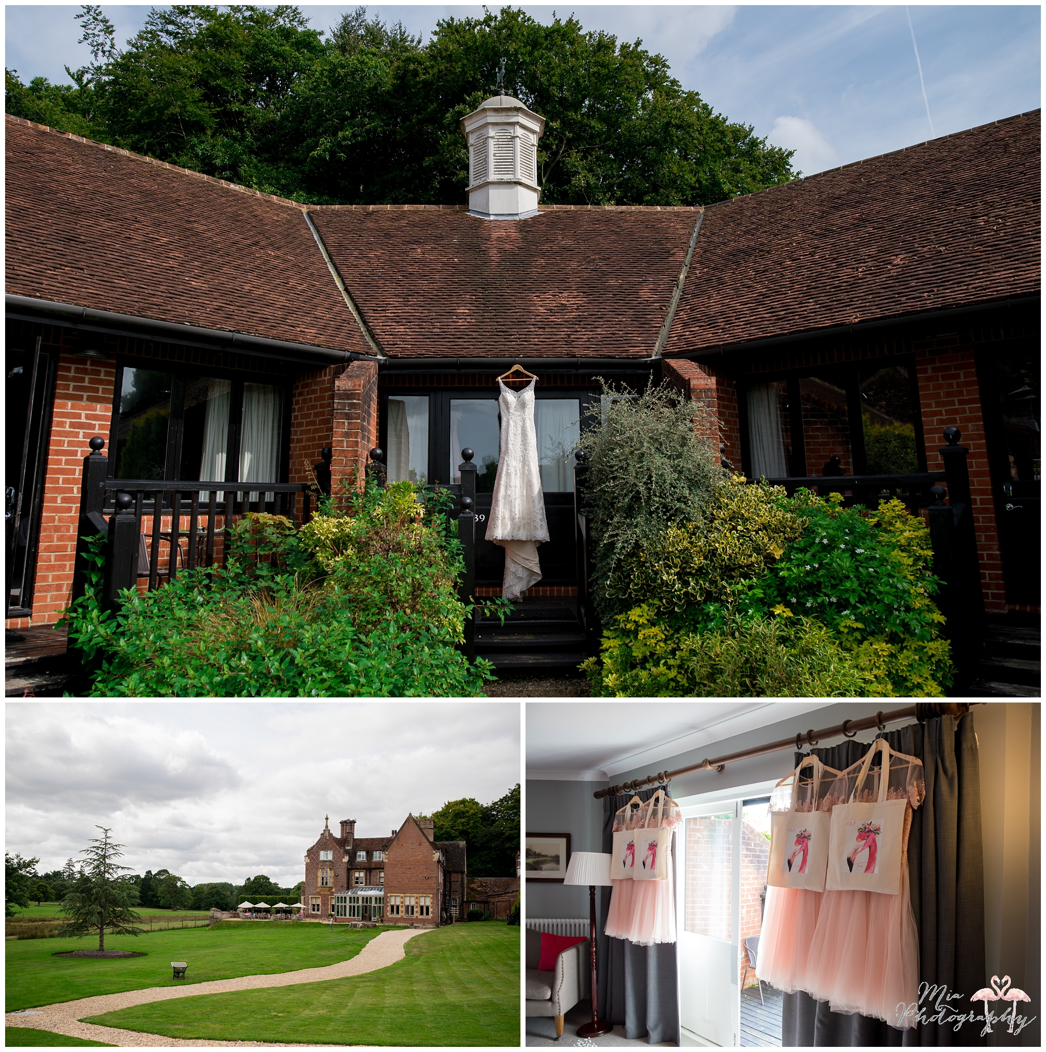 Parley Manor wedding