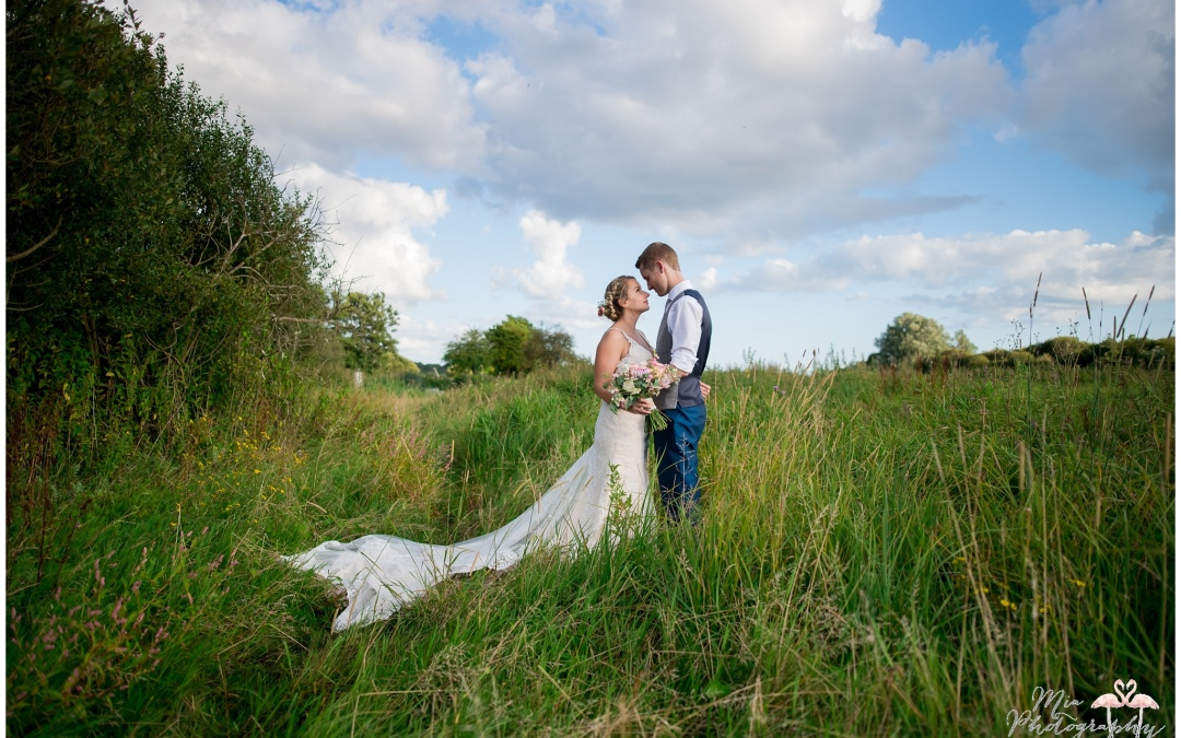 Sopley Mill in Dorset Wedding – Keshia & Ash