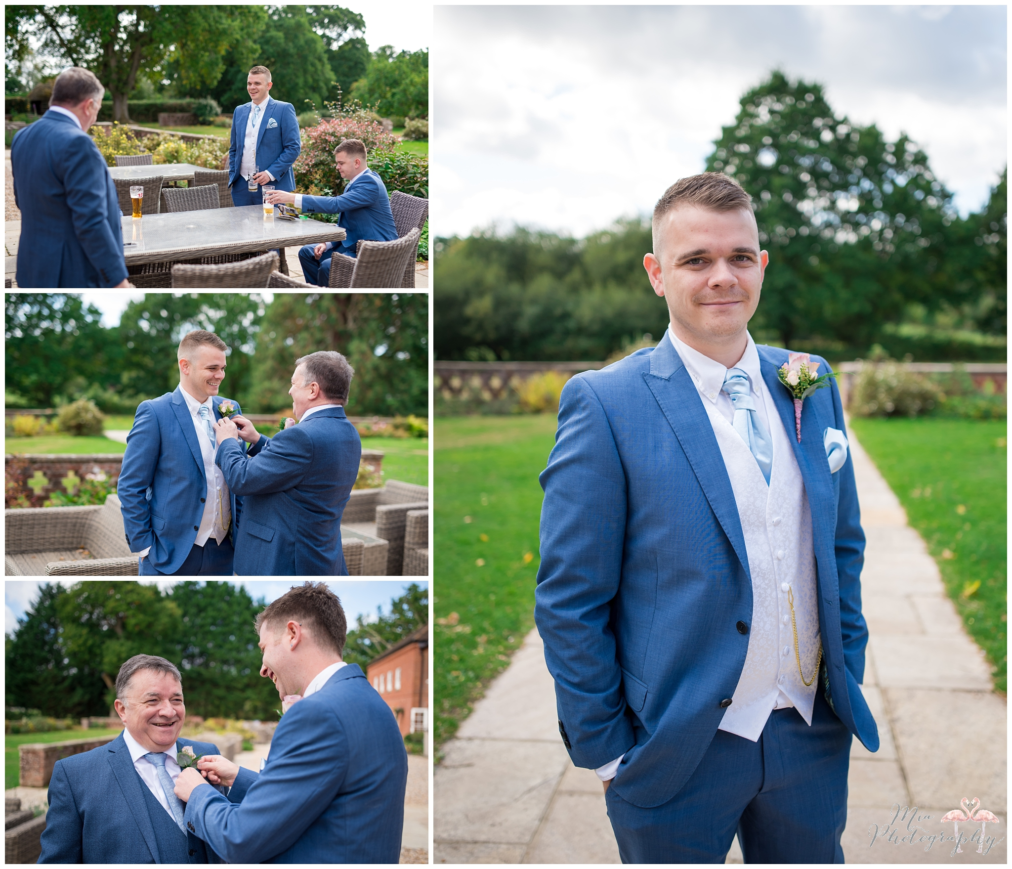 New Forest wedding at Bartley Lodge
