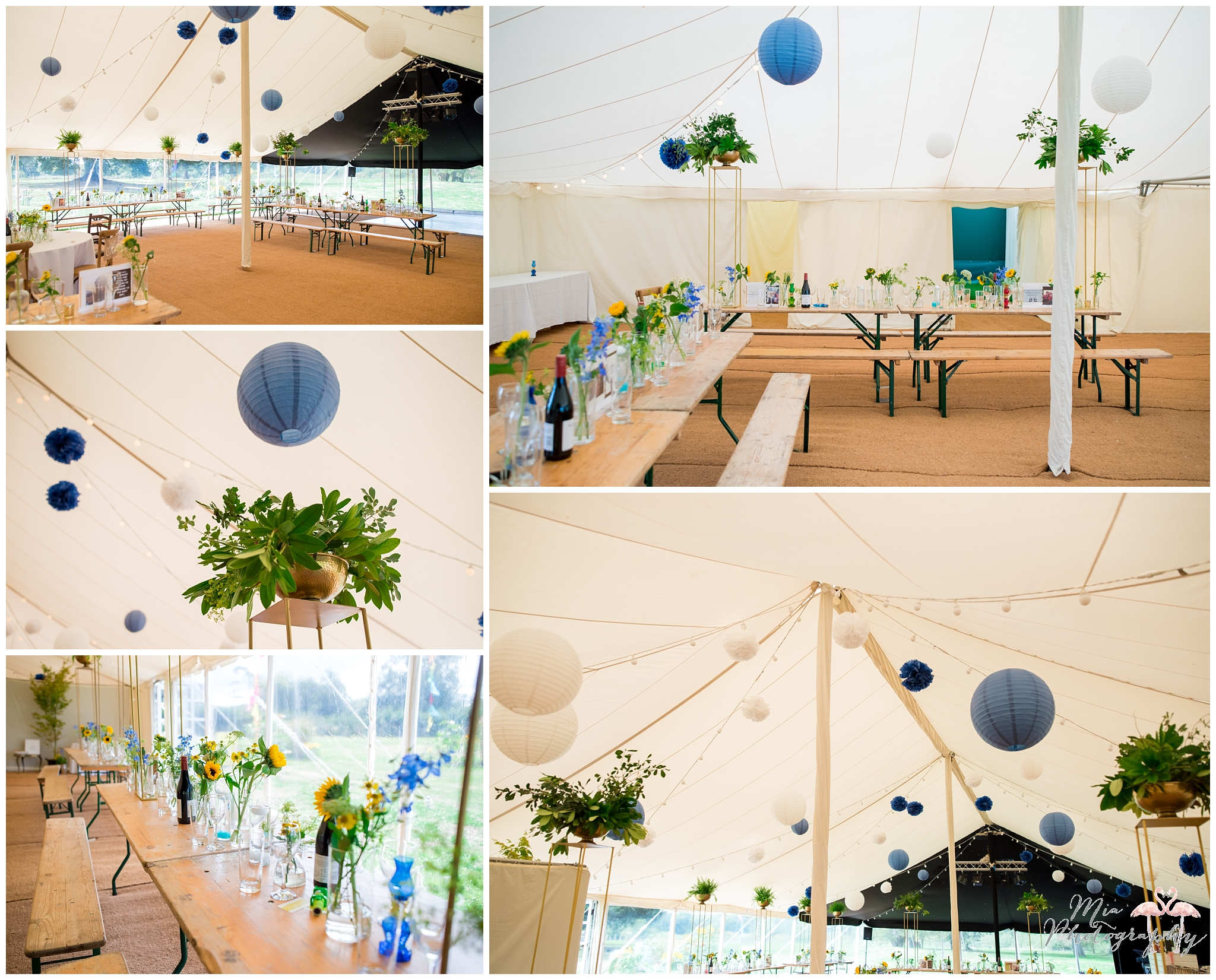 Hampshire Garden marquee wedding