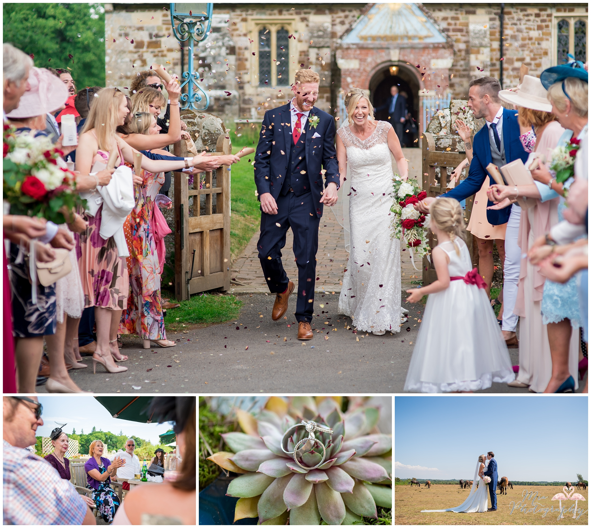 Best of Hampshire wedding photographer