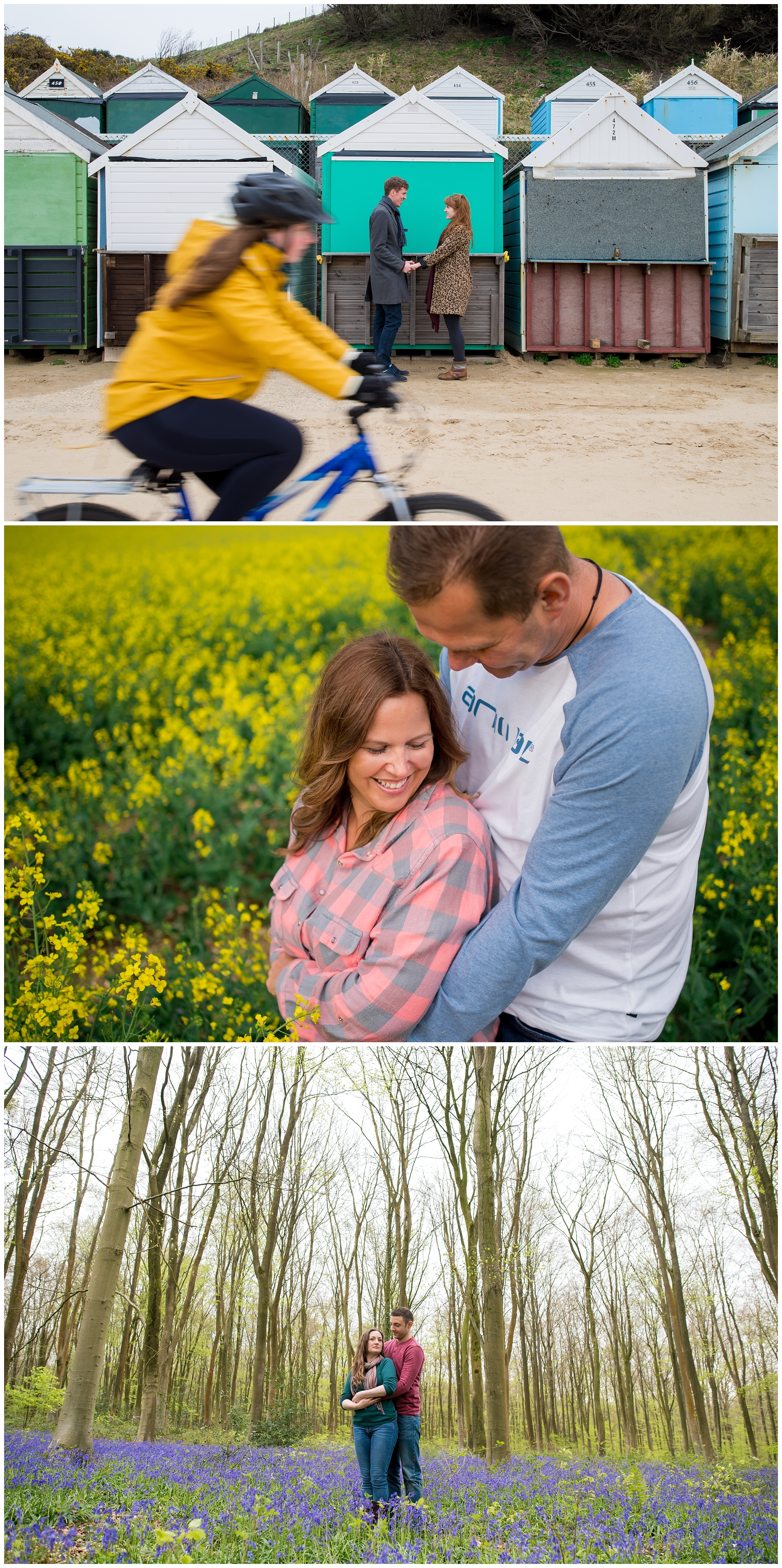 Hampshire engagement photography