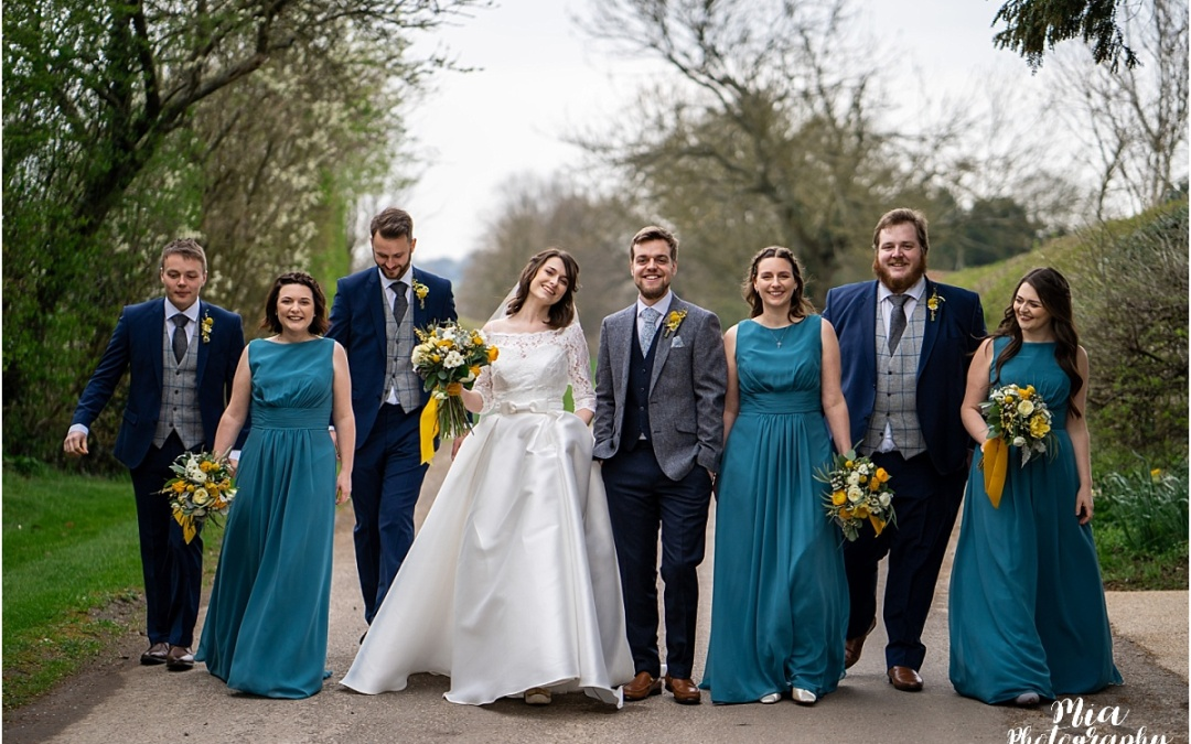 Spring Wedding at Clock Barn – Heather & Joe