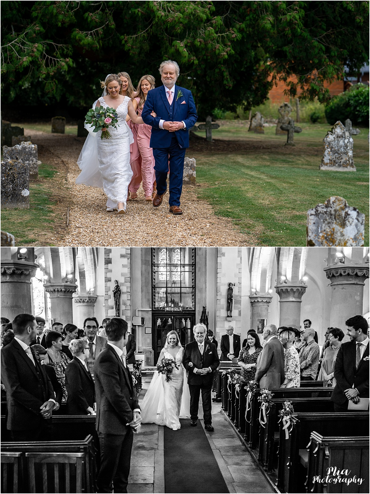 Hampshire barn wedding photography