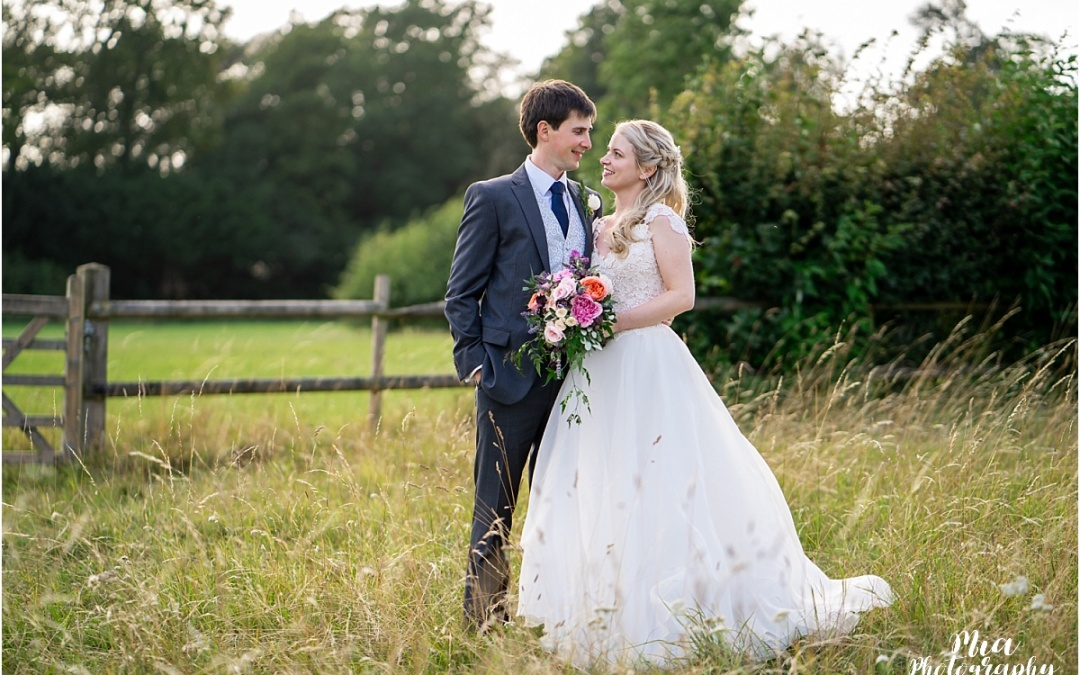 Barn Wedding in Hampshire – Francesca & Tom