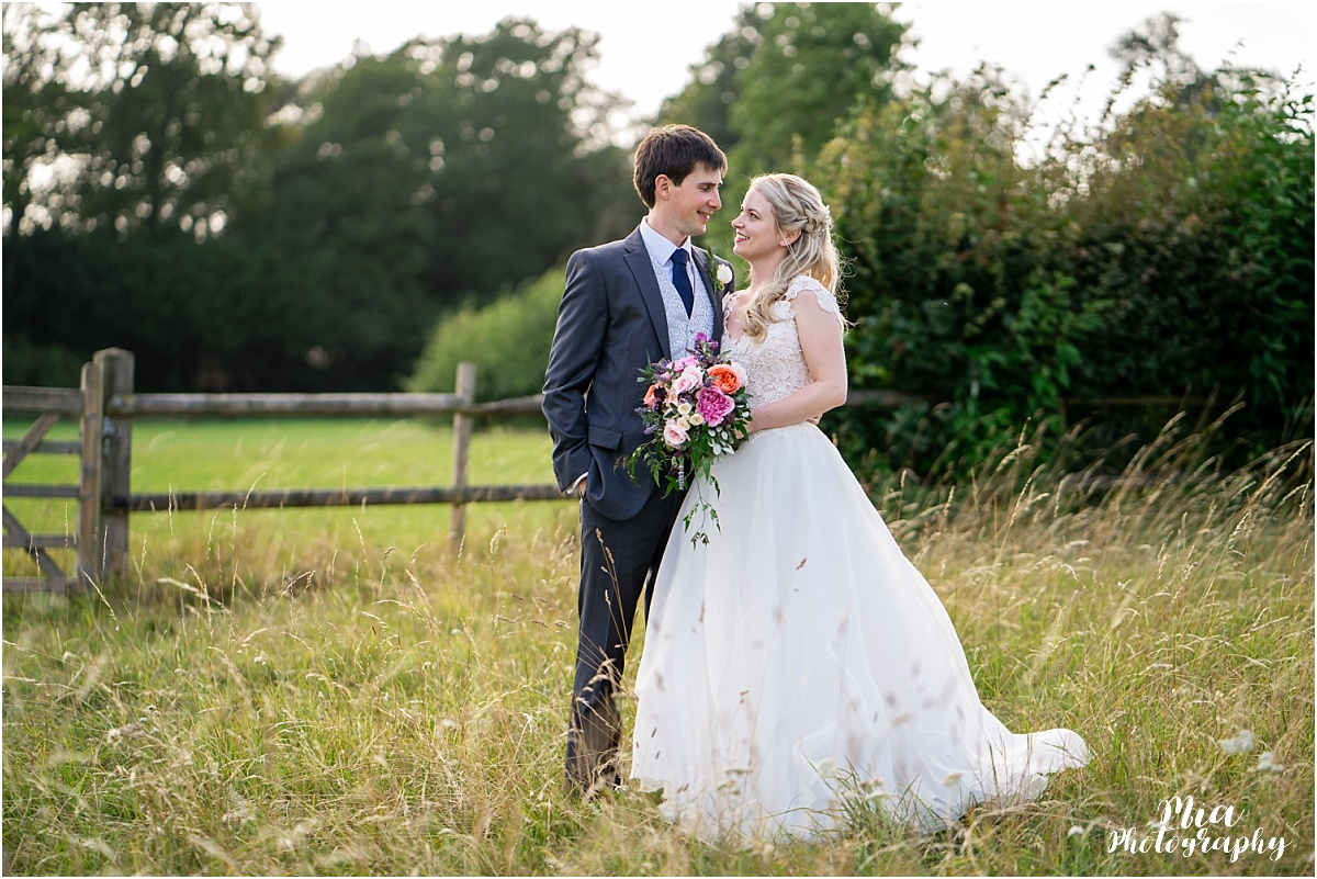 Barn wedding in Hampshire