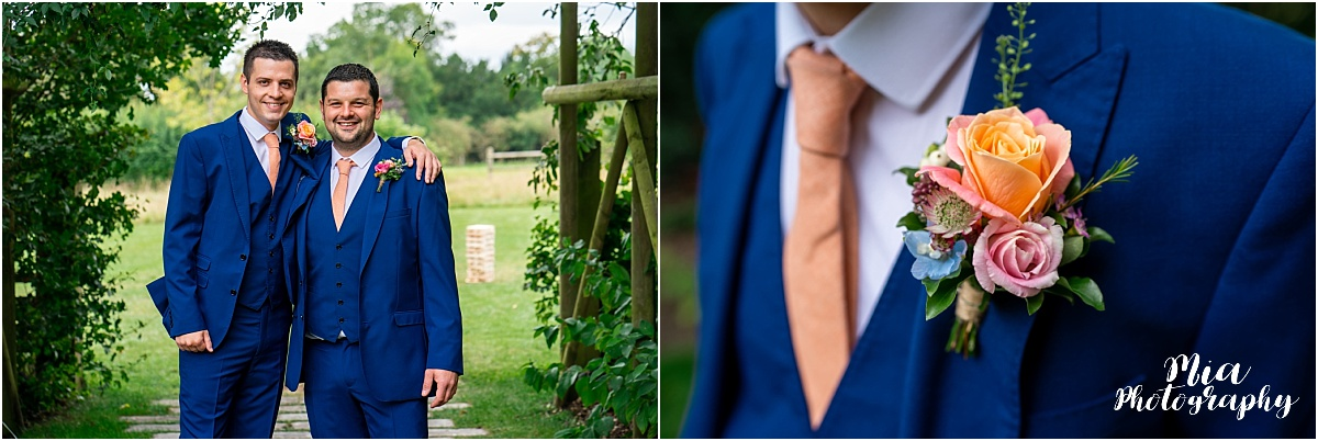 Hampshire barn wedding