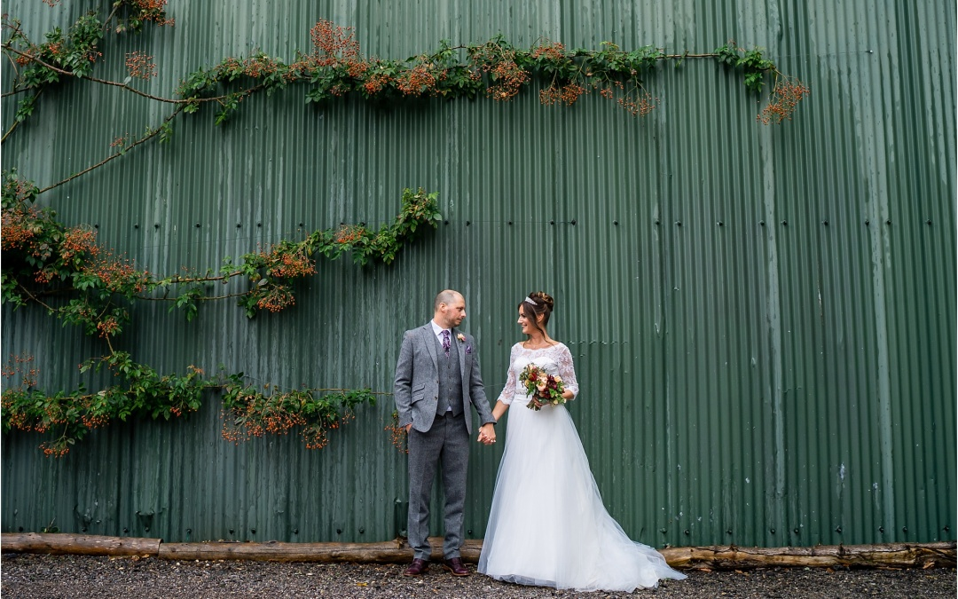 Autumn Barn Wedding – Suzy & Andy