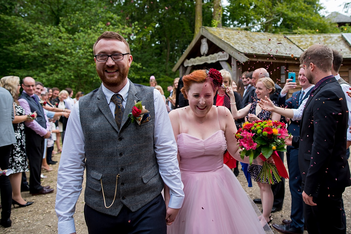Beaulieu Treehouses wedding