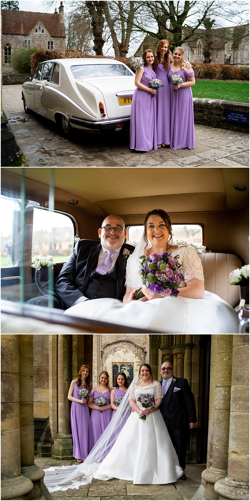 Romsey Abbey wedding