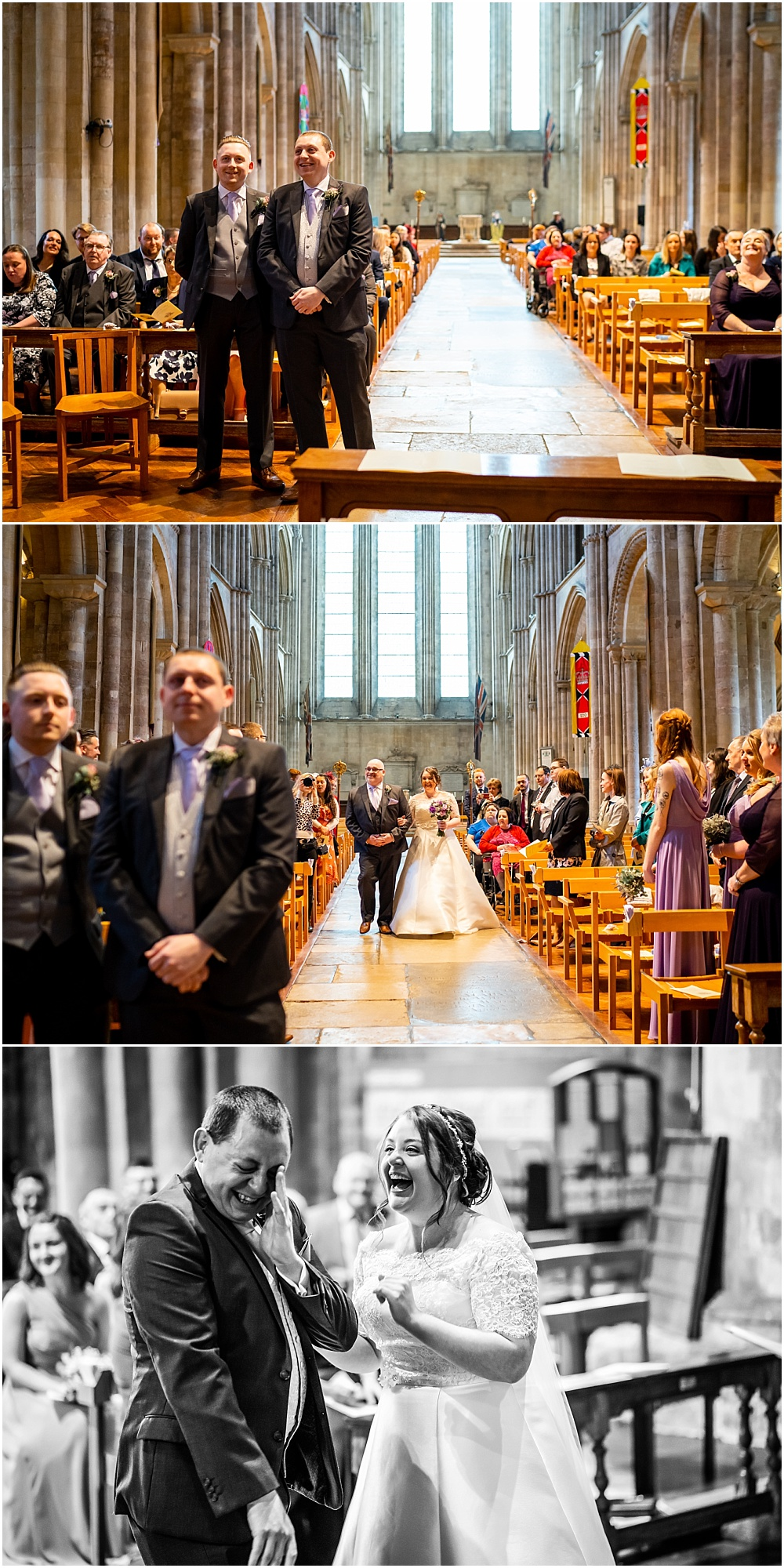 Romsey abbey wedding photography