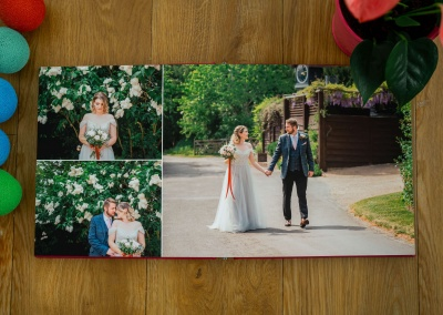 ideas for wedding album layouts