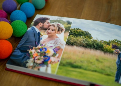 image showing what the wedding albums look like