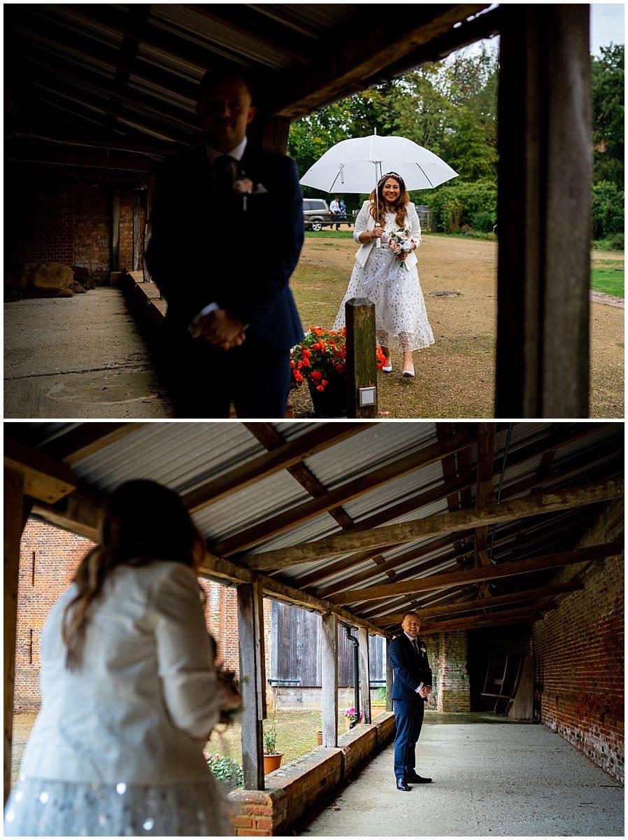 Basing House wedding