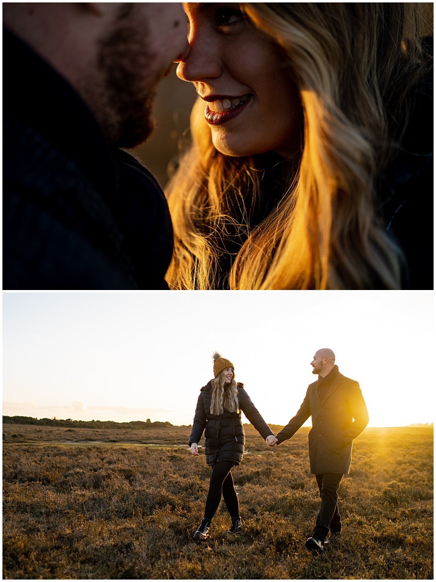 Engagement shoot New Forest
