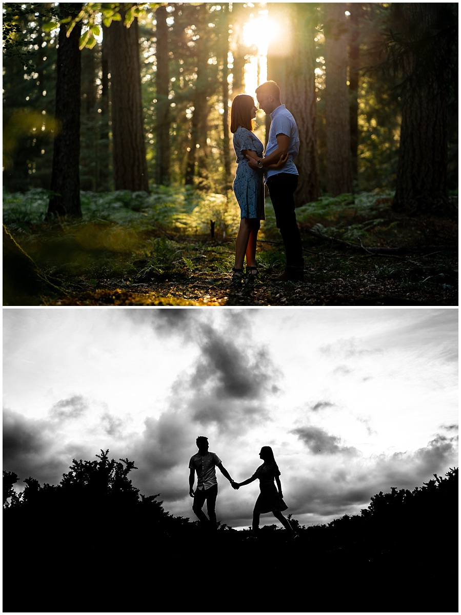 Prewed shoot New Forest
