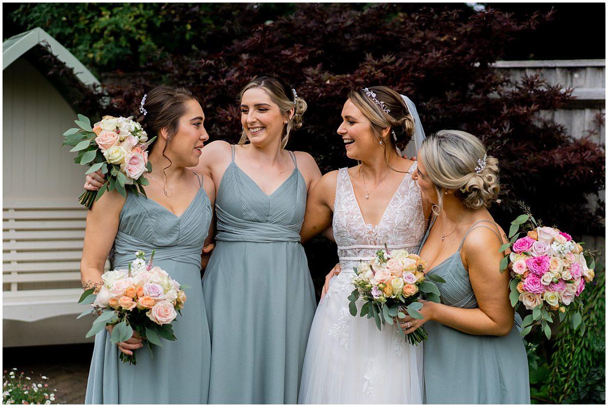 Hampshire farm wedding